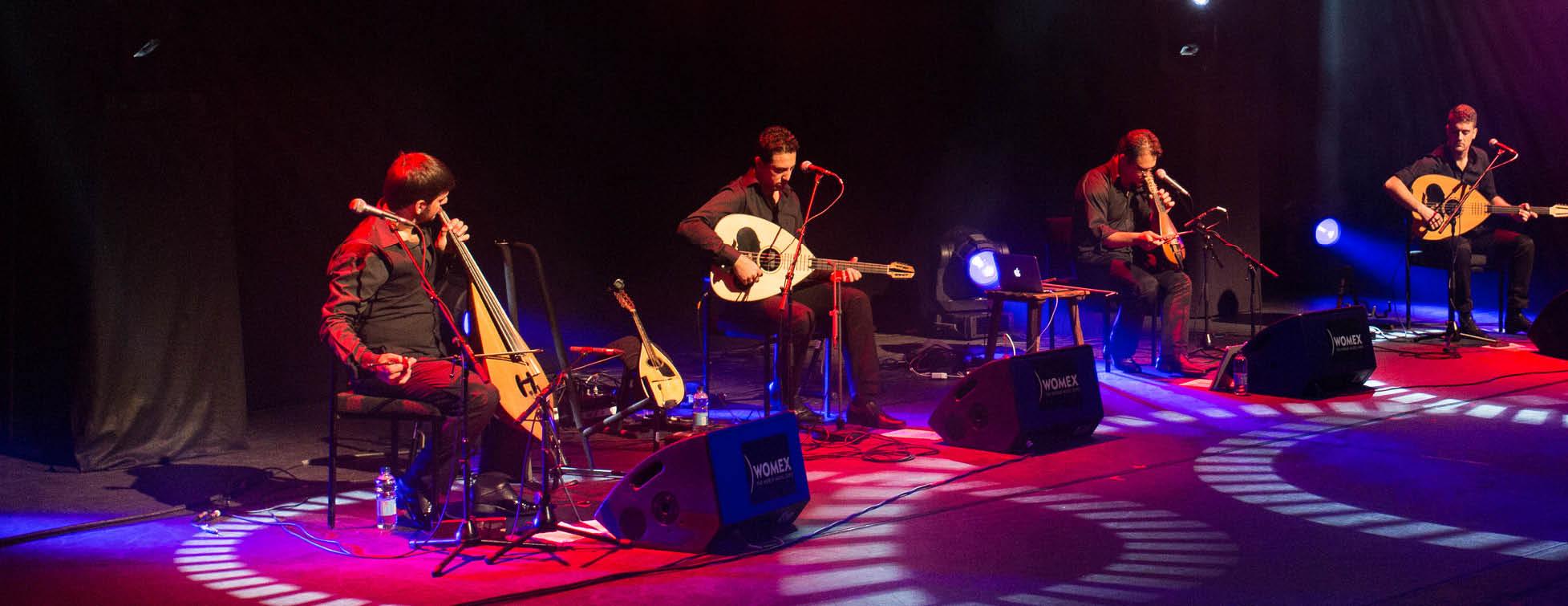 Stelios Petrakis Quartet // Festival de Sully et du Loiret