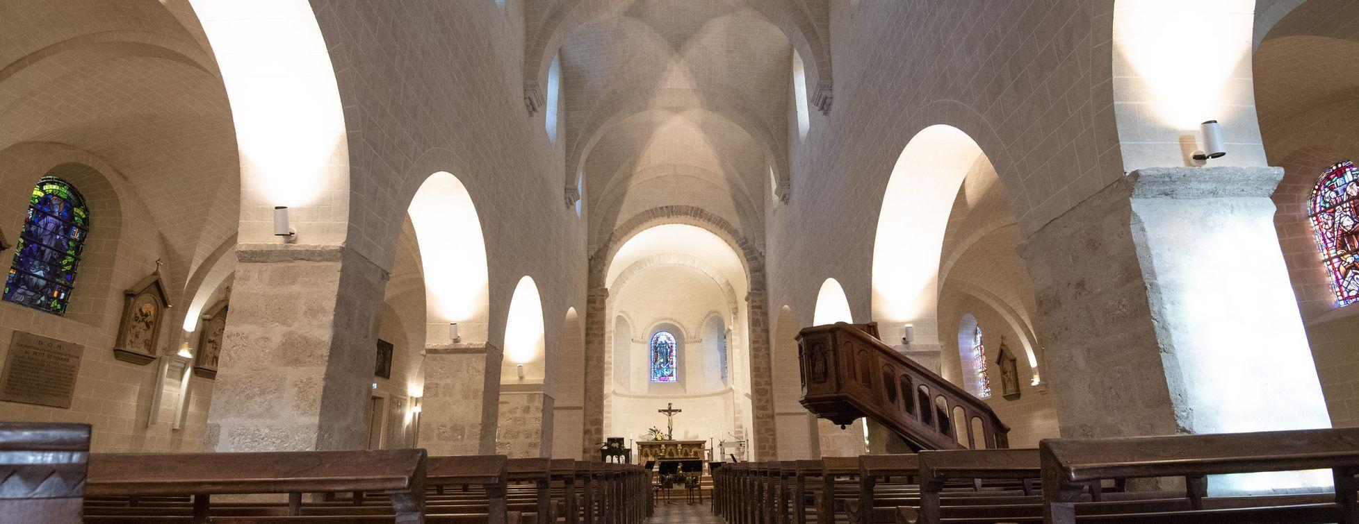 Restauration de l'église Saint-Mesmin