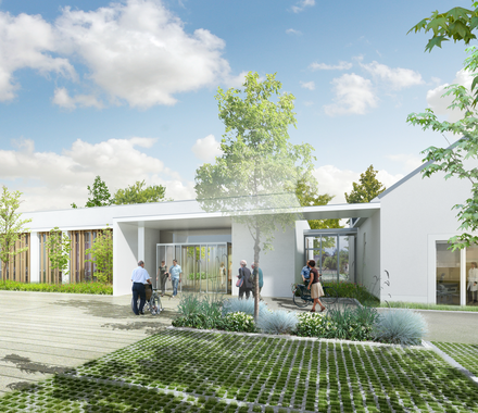 La future Maison de Santé Pluriprofessionnelle