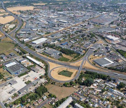 Elargissement de l'autoroute A10